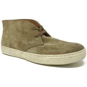 Vince Abe Chukka Sneakers Taupe Size 7.5 M